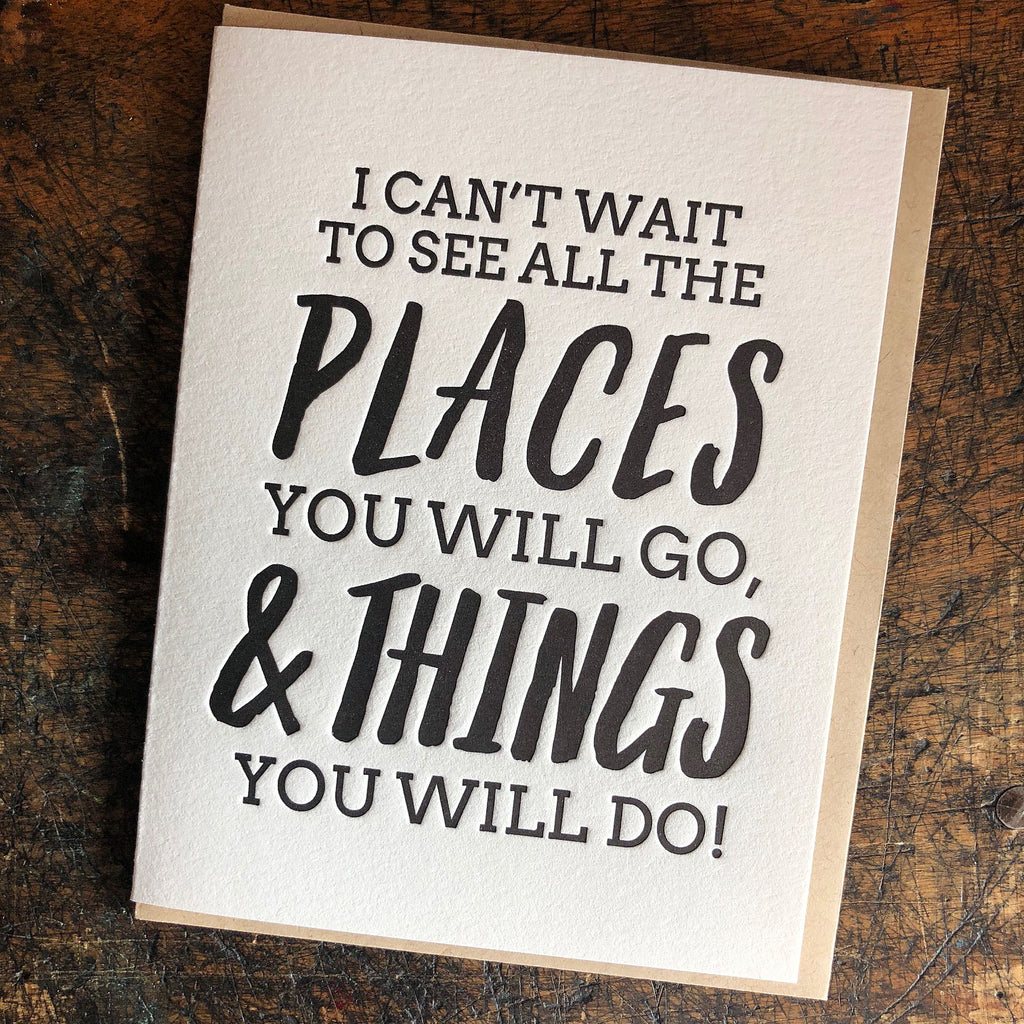 All the Places You Will Go