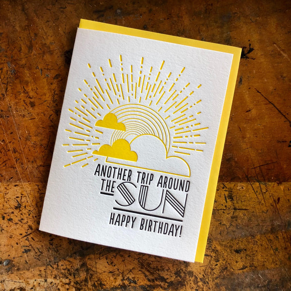 Another Trip Around the Sun Birthday Card