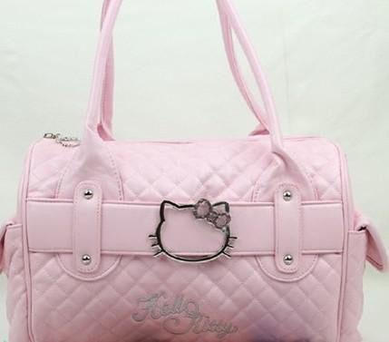 Famous Brand  Hello Kitty Handbags Shoulder Tote Bag Bolsa