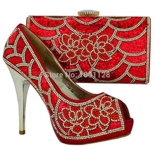 Free Shipping Women Shoes And Bags Set!High Quality Italian Shoes And Matching Bags sky blue Color!