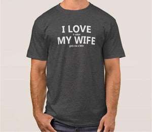 I LOVE MY WIFE (T-shirt)