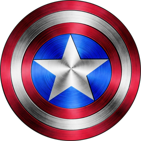 "Captain America Vinyl Decal / Sticker ** 5 Sizes ** (Small 6"")"