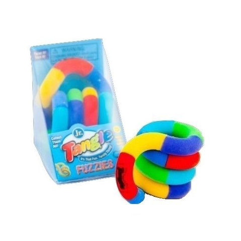 Fuzzy Tangle Jr. Tactile Fidget FiddleToy ASD ADHD Fuzzies Special Needs Autism