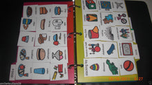 B 150 PECS BOOK 4 AUTISM ABA, SPEECH THERAPY, ADHD, LANGUAGE & APRAXIA ASPERGERS