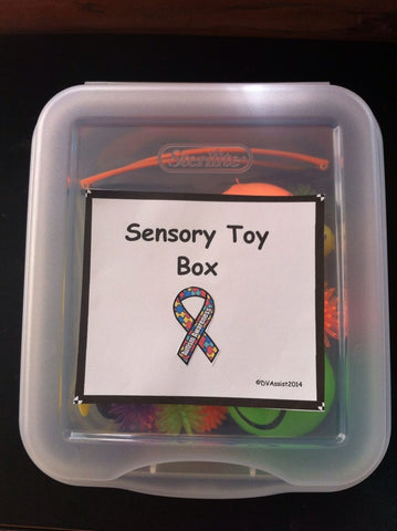 Autism, PDD, Special Needs Sensory Toy Box
