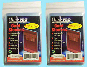 200 ULTRA PRO Soft CARD SLEEVES NEW No PVC Penny Plastic Sports Trading Baseball