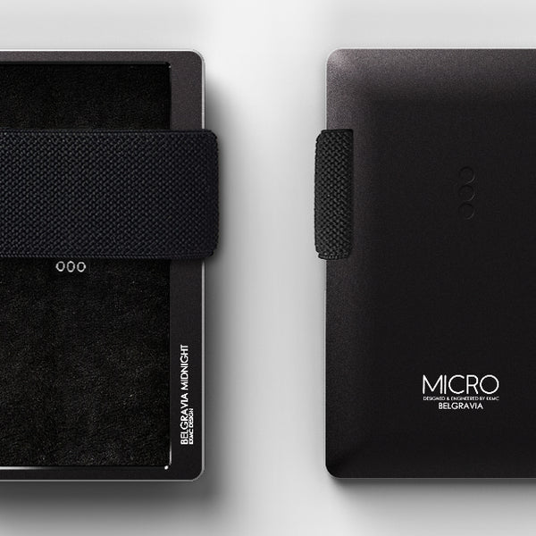 Micro Belgravia - Midnight Black