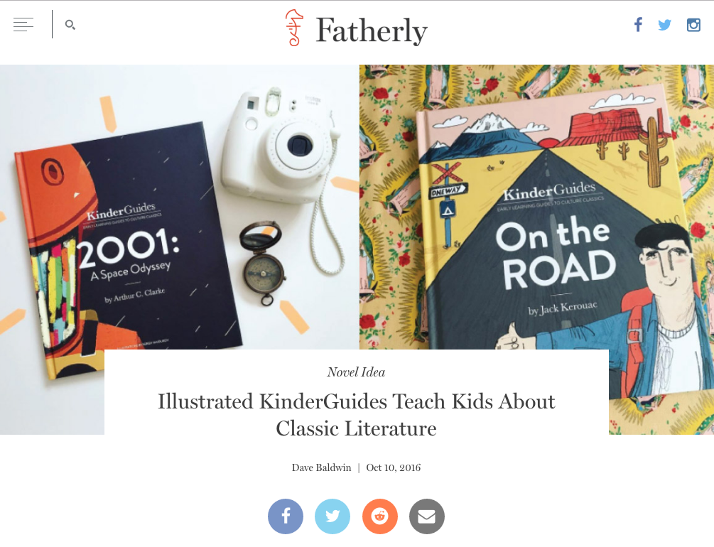 Novel Idea - Fatherly.com Feature