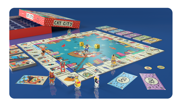 Cat City Board Game