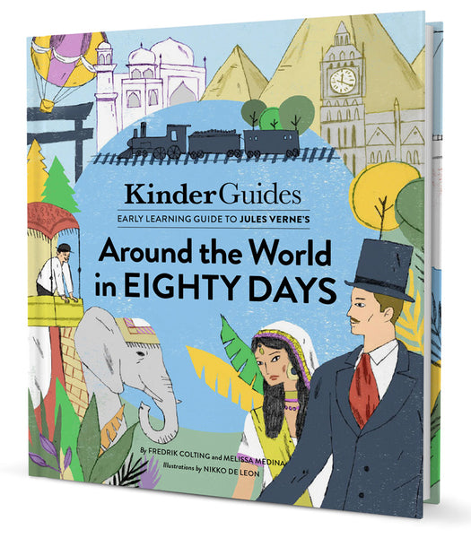 KinderGuides Early Learning Guide to Jules Verne's Around the World in Eighty Days