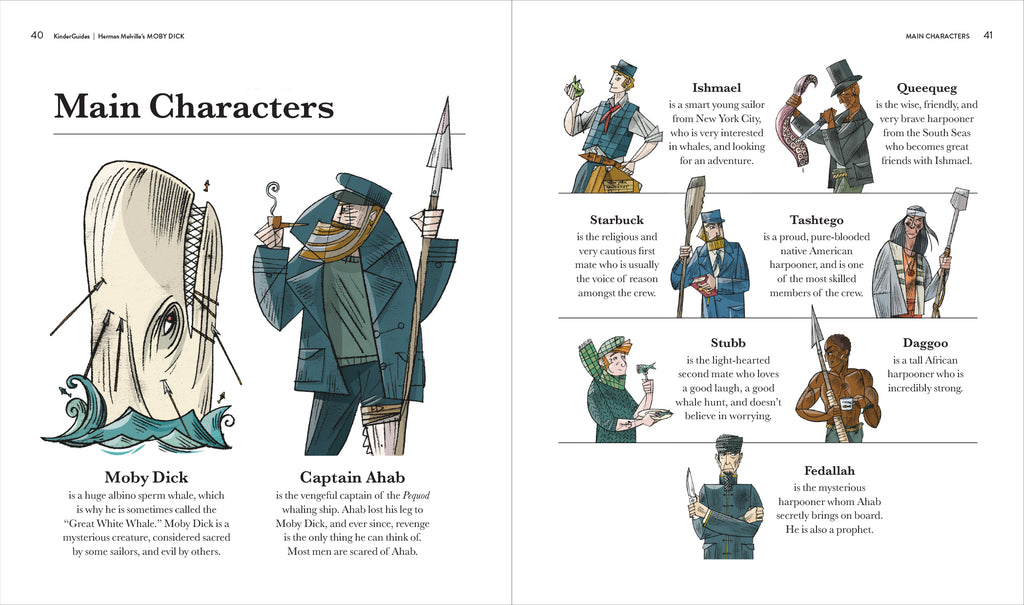 Starbuck character from moby dick