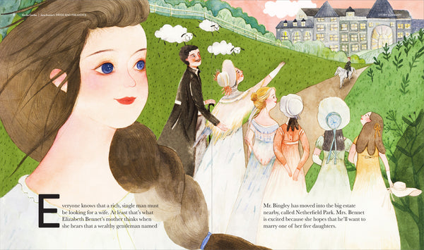 KinderGuides Early Learning Guide to Jane Austen's Pride and Prejudice