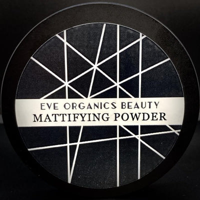 MATTIFYING POWDER Compact INVISIBLE - Eve Organics Beauty