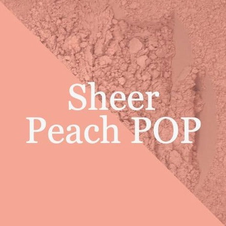 Sheer PEACH POP Blush