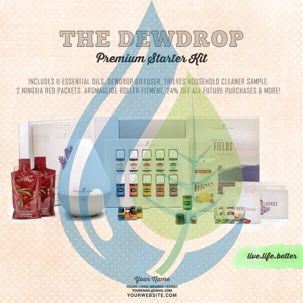 Premium Starter Kit: Dew Drop
