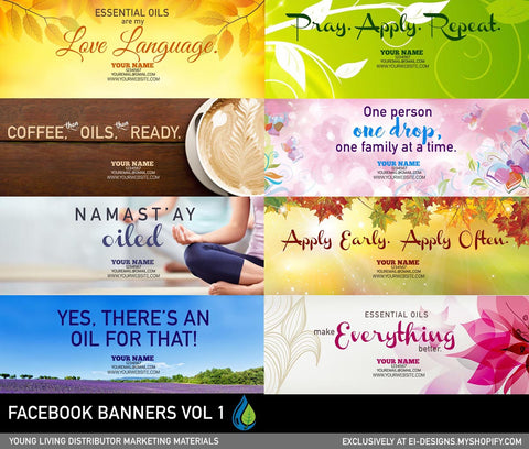 Facebook Banners Vol 1