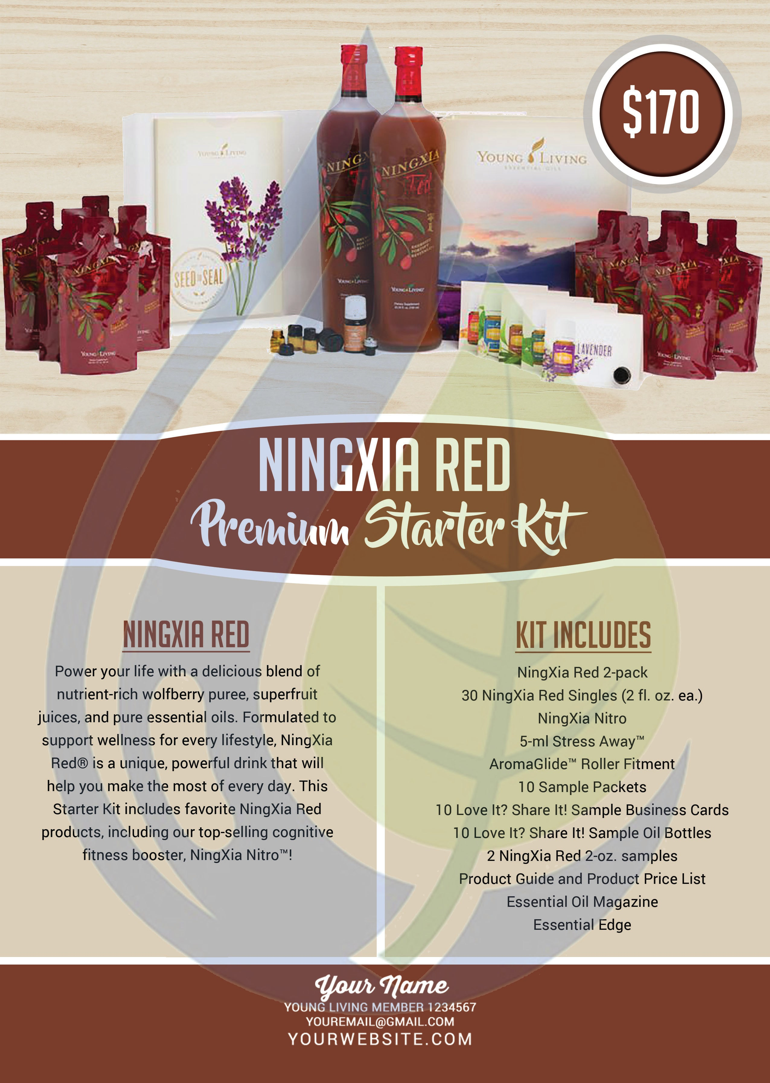 Ningxia Red Premium Starter Kit