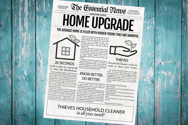 Home Upgrade Printable