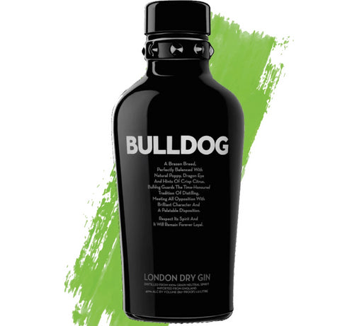 Bulldog London Dry 750ml - Gin Fever