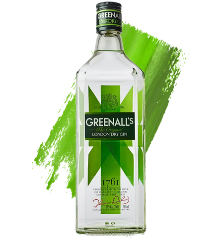 Greenall's London Dry 700ml - Gin Fever