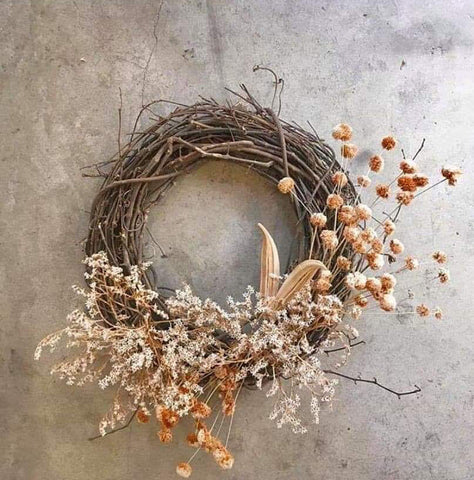 WORKSHOPS - DRIED CHRISTMAS WREATH