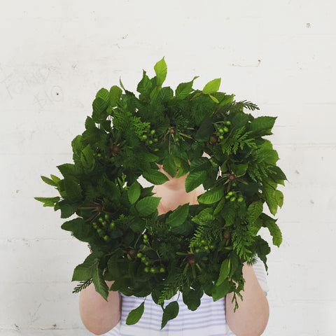 WORKSHOP - FRESH CHRISTMAS WREATH