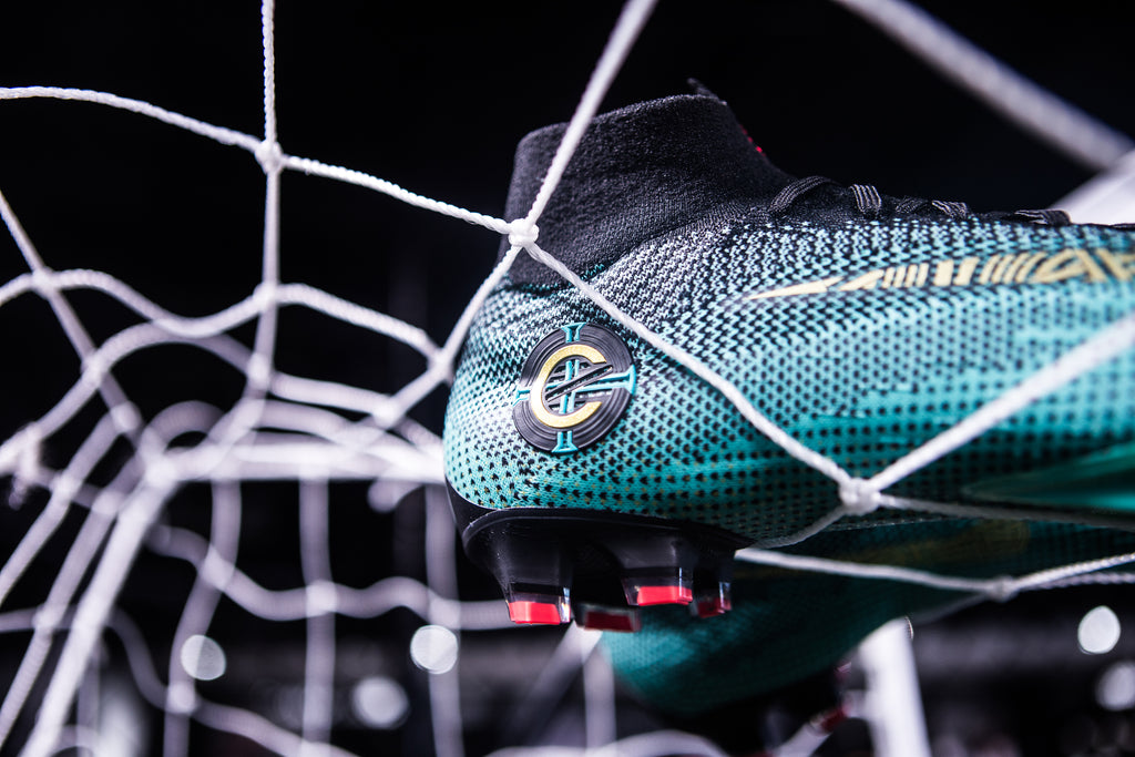 da22a6a06f046 Captaining Portugal at a young age, Ronaldo has been the star in Portugal's  national side for years - and this Jade colourway of the Mercurial Superfly  ...