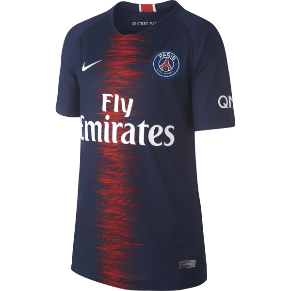 outlet store f3737 4c459 PSG Kids Home Jersey - 2018 19   SPT Football   Free Shipping Australia wide