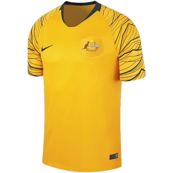 5d1e5cac09d Nike Australia Adults Home Jersey - 2018 | SPT Football | Free Shipping  Australia wide