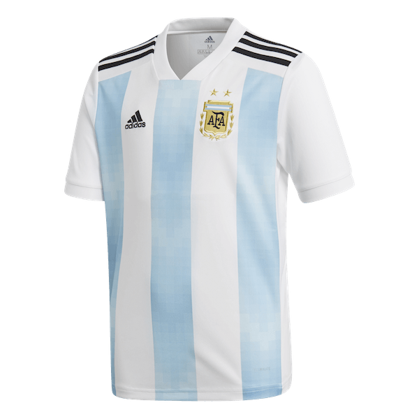 45d875c18 Adidas Argentina Home Youth Jersey - 2018