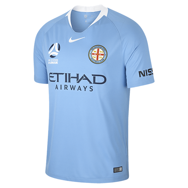 4a0040e851e Melbourne City Adults Home Jersey - 2018 19