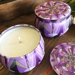 Art Deco Tin - Burnt Fig & Cassis