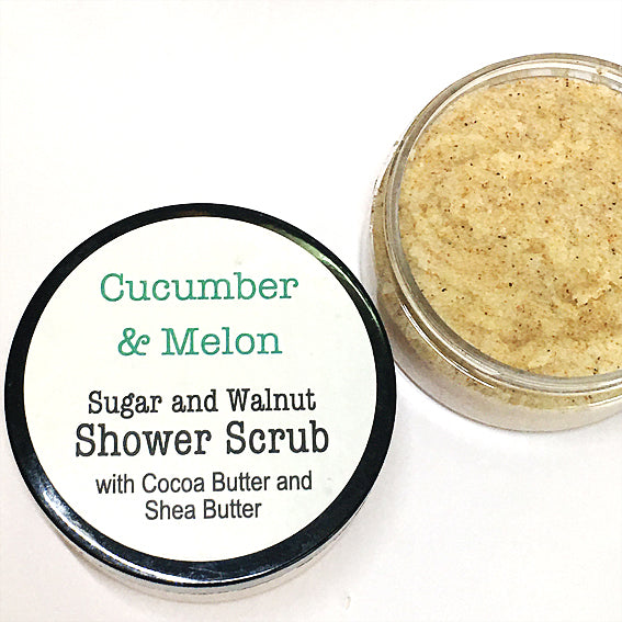 Shower Scrub - Cucumber & Melon