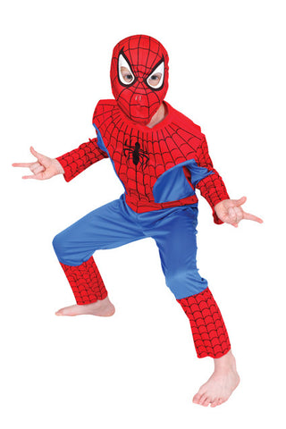 SPIDER-MAN COSTUME - SIZE 6-8