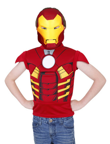 IRON MAN DRESS UP SET - SIZE 3-5