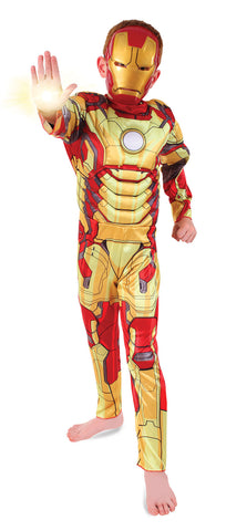 IRON MAN 3 DELUXE - SIZE 5-7