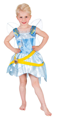 PERIWINKLE PIRATE DELUXE CHILD COSTUME  - SIZE 4-6