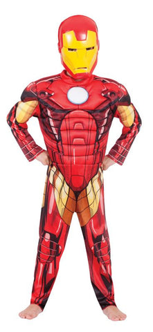 IRON MAN AVENGERS ASSEMBLE DELUXE - SIZE 6-8