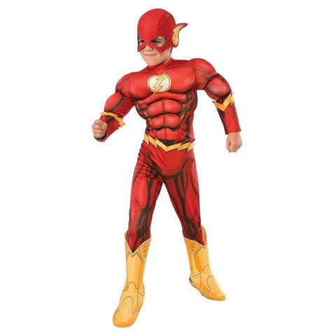 THE FLASH DELUXE MUSCLE CHEST CHILD - SIZE M