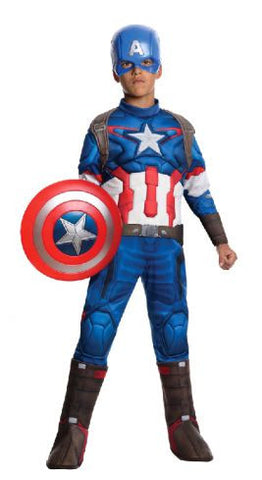 CAPTAIN AMERICA AAOU DELUXE - SIZE S