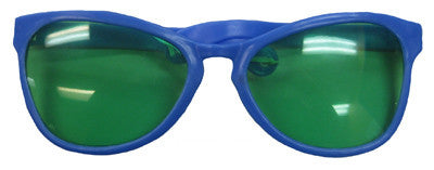 Giant Blue Sunglasses w/Lens