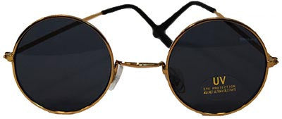 Lennon Round Glasses Dark