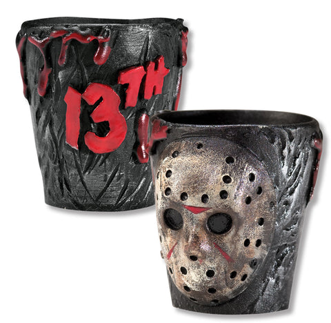 JASON FRIDAY 13TH SHOT GLASSES