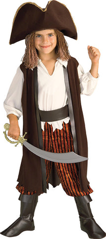 CHILD CARIBBEAN PIRATE - SIZE S (AS 888129S)