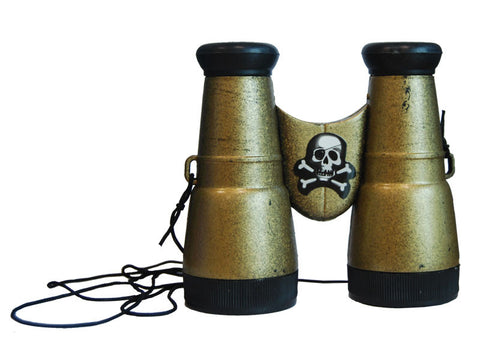 Pirate Binoculars Gold/Black