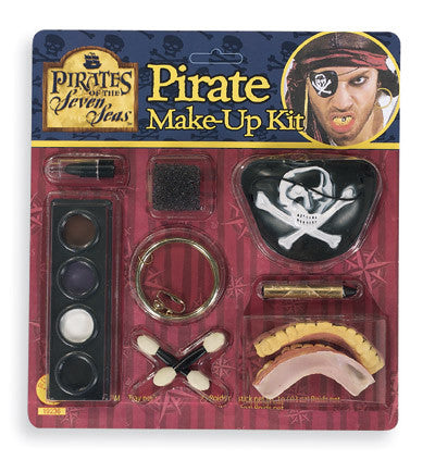 CARIBB PIRATE MAKE UP KIT