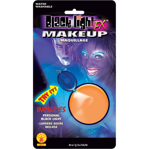 BLACK LITE ORANGE MAKE UP