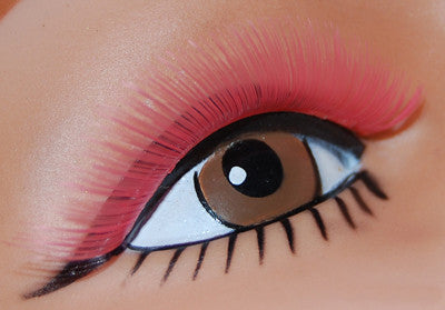 Sweep Lashes Hot Pink