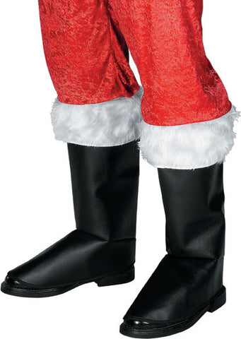 ADULT DELUXE SANTA BOOT TOPS