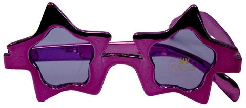 Star Glasses Purple